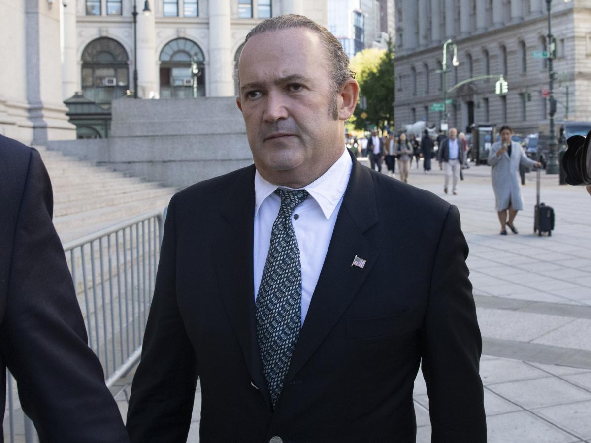 Igor Fruman arrived for his arraignment on Oct. 23 in New York. He and associate Lev Parnas returned to court for a conference on Dec. 2.