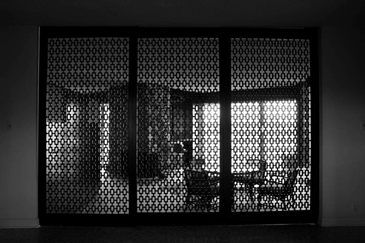 A house in LA's View Park neighborhood. Architect Claude Coyne designed this home for Paul R. Williams and Associates. Built in 1962, this is the first home Janna Ireland photographed for her book, only to learn later that it wasn't actually designed by W
