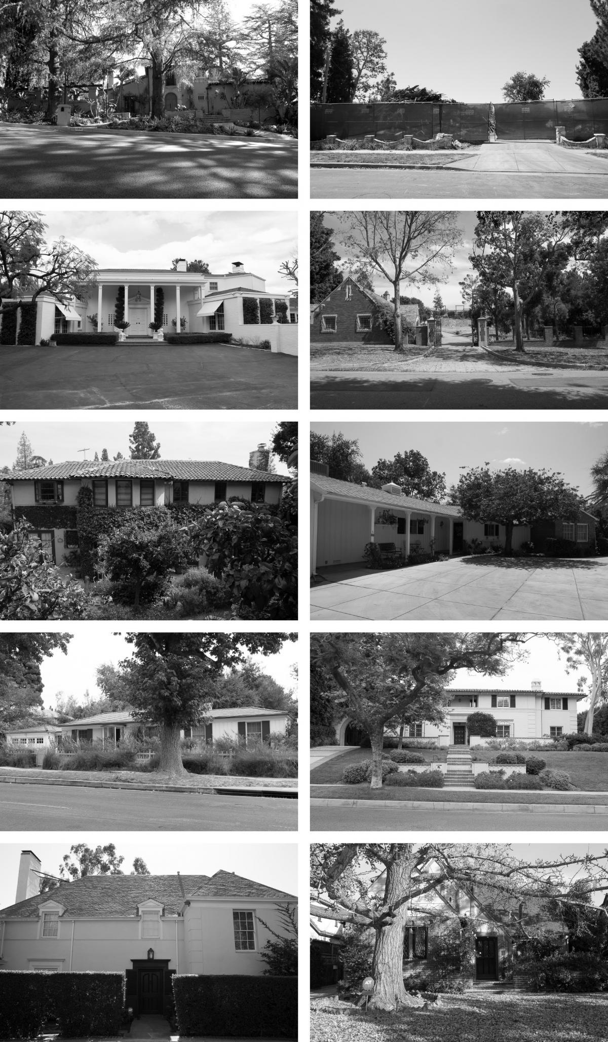 The variety of home exteriors designed by Williams in the Los Angeles area demonstrate the wide range of architectural styles he employed. Williams designed nearly 3,000 structures in his lifetime, about 2,000 of which are in LA alone.