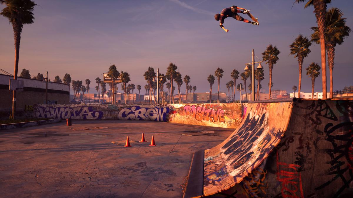 Columnist Kaity Kline says Venice Beach — seen here in its shiny new incarnation — was her favorite part of the original Pro Skater 2.