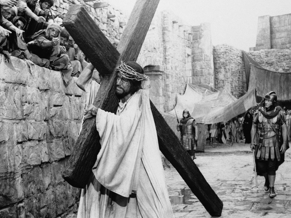 Von Sydow played Jesus in 1965's The Greatest Story Ever Told.