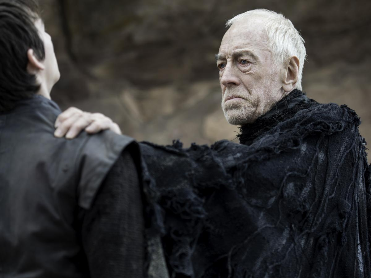 Von Sydow played the Three-Eyed Raven on HBO's Game of Thrones.