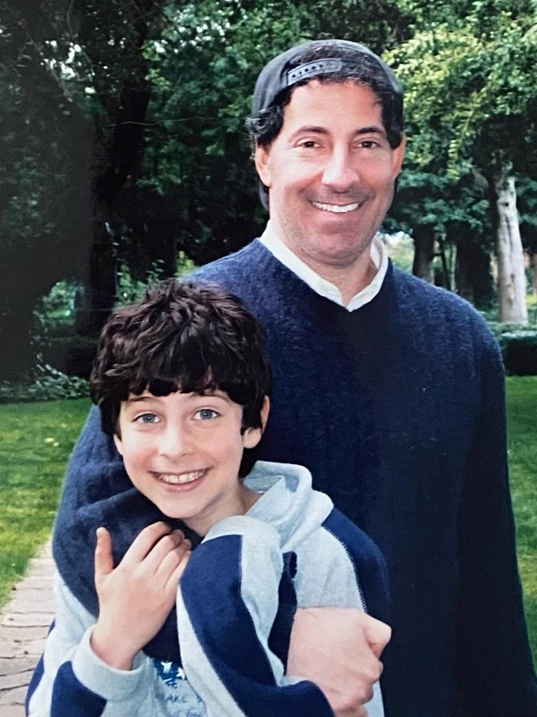 "Jamie Raskin and Tommy Raskin in an undated photo. ""It wasn't his mind that marked him as so extraordinary,"" Jamie Raskin says. ""It was his heart."""
