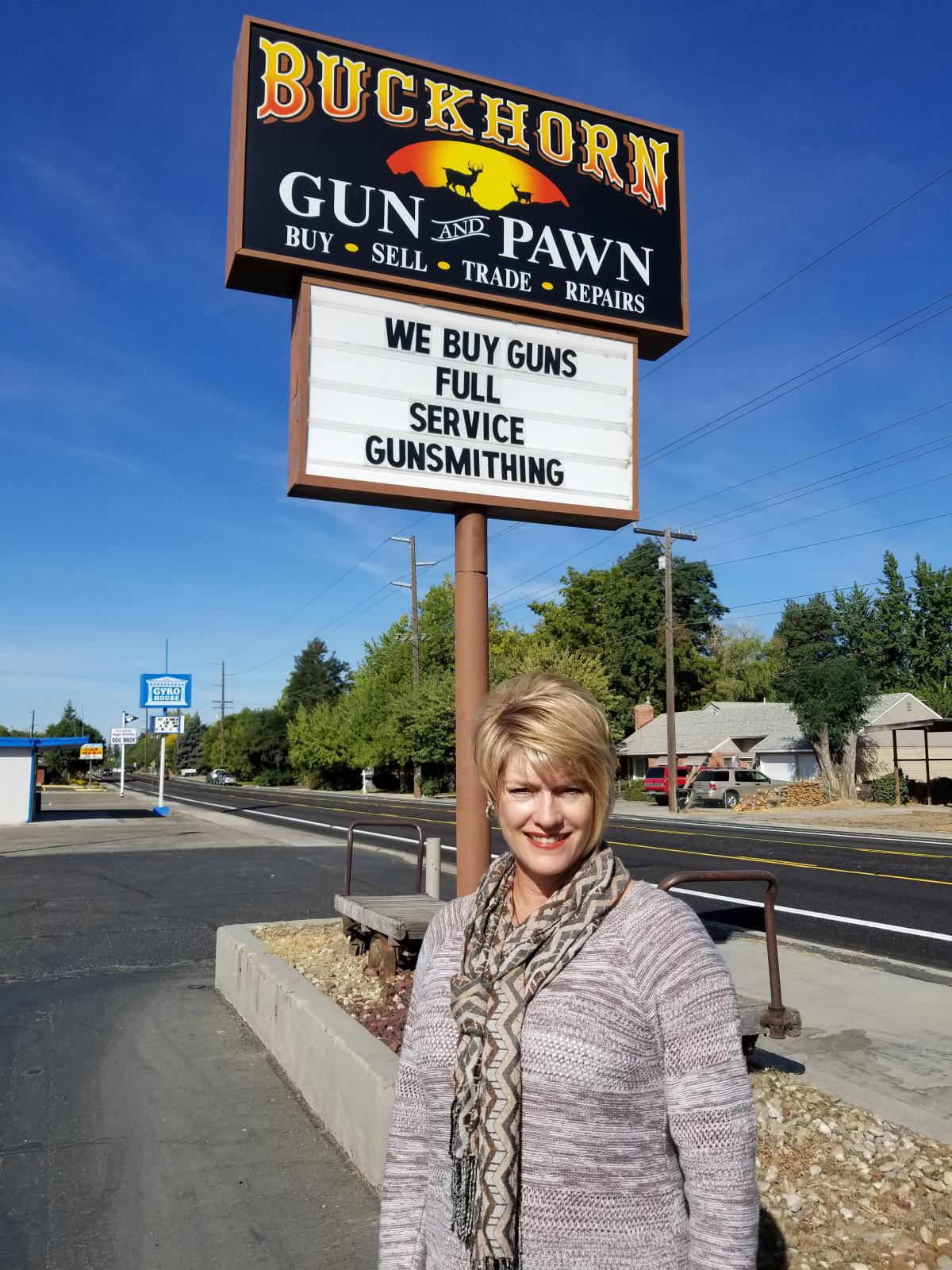 State Rep. Christy Perry, who co-owns a gun store in Boise, Idaho, is helping lead a campaign to persuade voters to approve Medicaid expansion in the state.