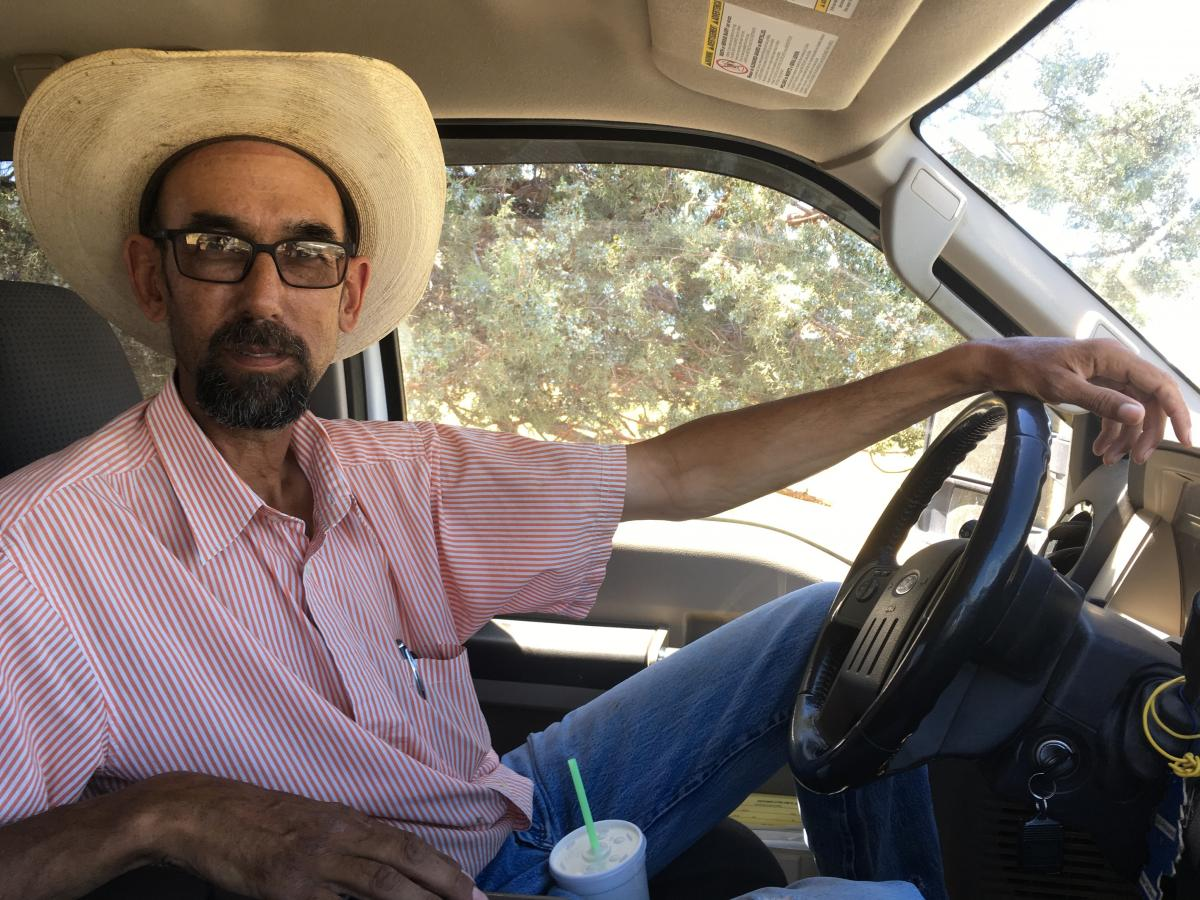 """Aaron Albaugh runs a cattle ranch in Lassen County, in Northern California. Living in a remote area, he says he's learned to """"do without"""" a lot of things, including health care."""