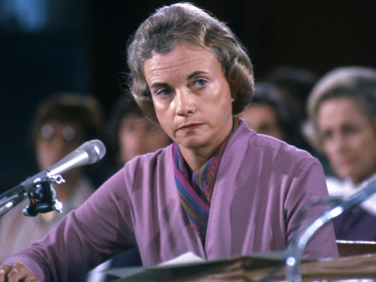 Sandra Day O'Connor, seen here testifying before the Senate Judiciary Committee in 1981, served for 24 years on the Supreme Court.