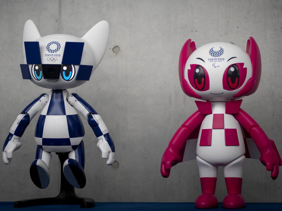 Toyota Motor Corp. designed mascot robots Miraitowa and Someity to help welcome visitors to the Tokyo 2020 Olympic and Paralympic Games.