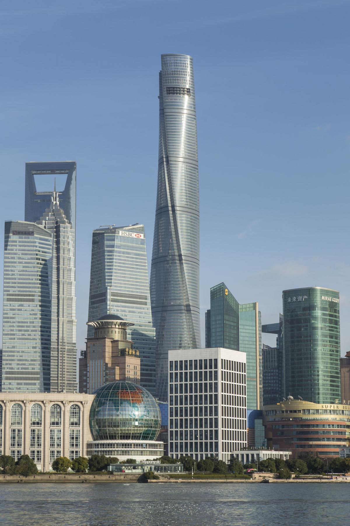It's estimated 20,000 to 30,000 people will pass through Shanghai Tower each day.
