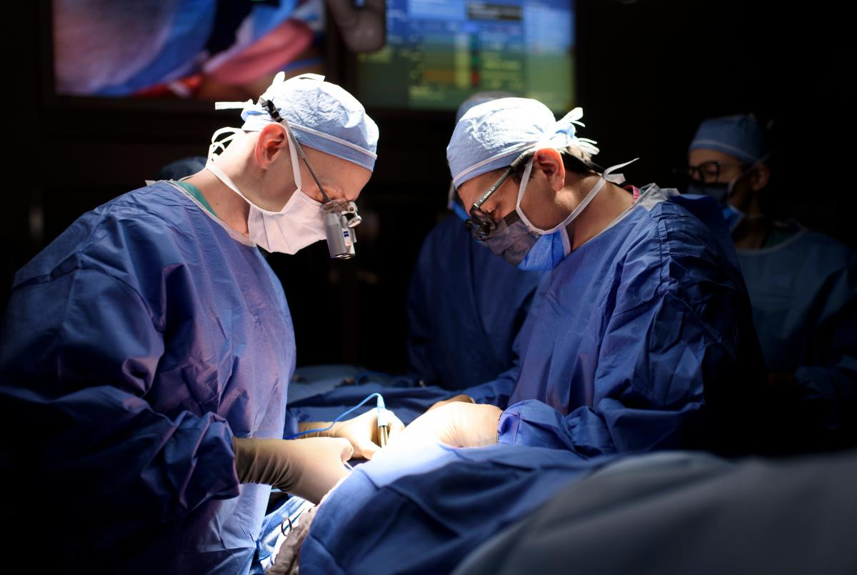Dr. Joseph H. Dayan (left) and Dr. Babak Mehrara are plastic and reconstructive surgeons at Memorial Sloan Kettering Cancer Center. Lymph node transfer has been around for about a decade, Dayan says, but recent advances in imaging have improved the techni