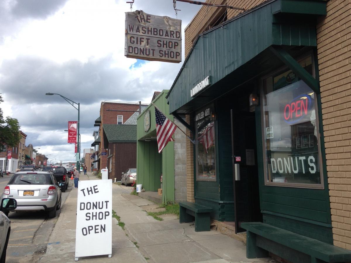 The Donut Shop in Tupper Lake, N.Y.