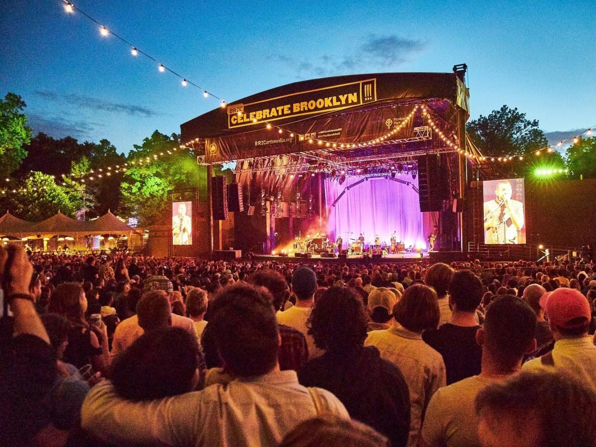 Calexico and Iron & Wine perform at BRIC Celebrate Brooklyn! Festival.