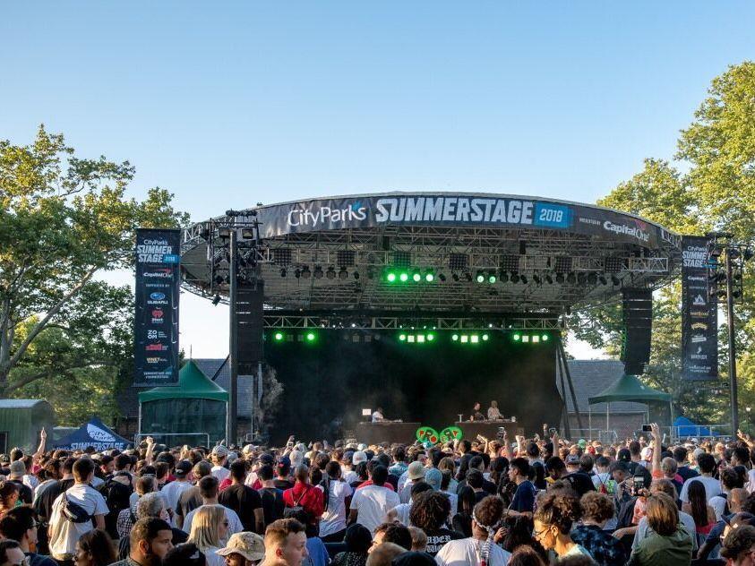 SummerStage in Central Park .