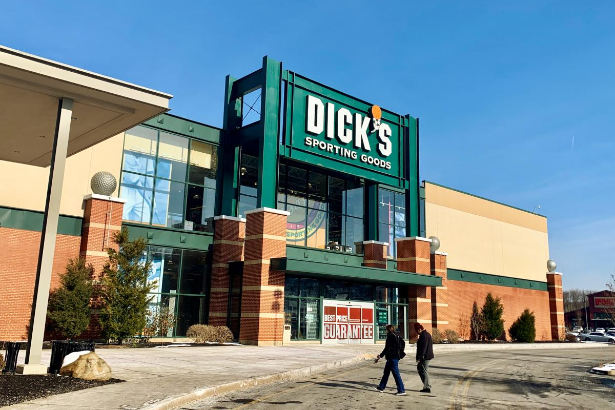 Many shoppers at this Dick's Sporting Goods near Pittsburgh said the company's new gun policy has not affected them or changed their shopping habits.