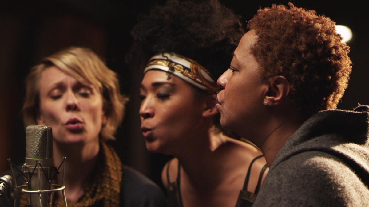 Jo Lawry, Judith Hill and Lisa Fischer are three of the backup singers featured in Twenty Feet From Stardom.