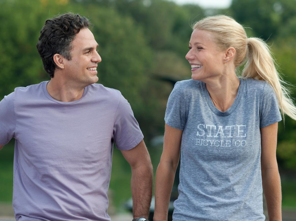 Mark Ruffalo plays Adam, a recovering sex addict trying to form a healthy new relationship with Phoebe (Gwyneth Paltrow).