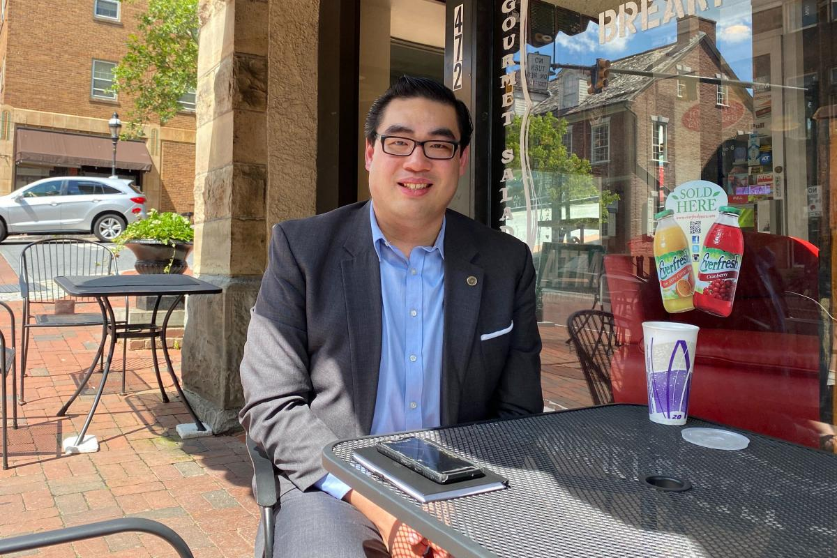 Sam Chen, Republican strategist and political science professor who grew up in the steel town of Bethlehem, Pa., says he will vote by mail.