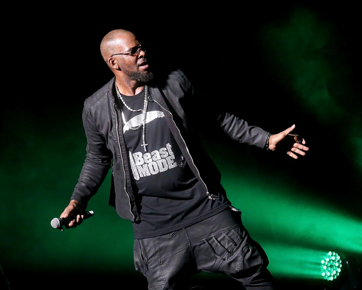 R. Kelly performs at Bass Concert Hall on March 3, 2017 in Austin, Texas.