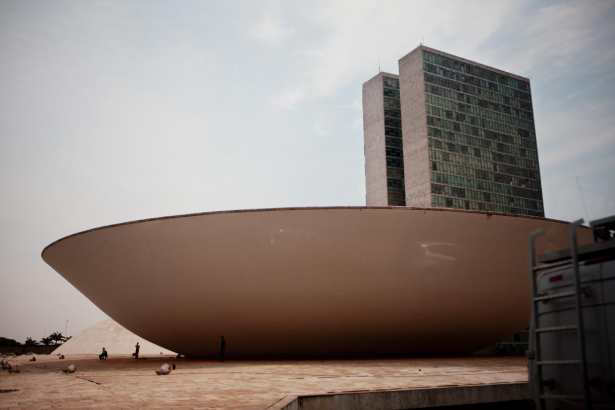 The National Congress building in Brasilia, the capital. Cassol and other legislators will weigh in on international agreements on climate control.