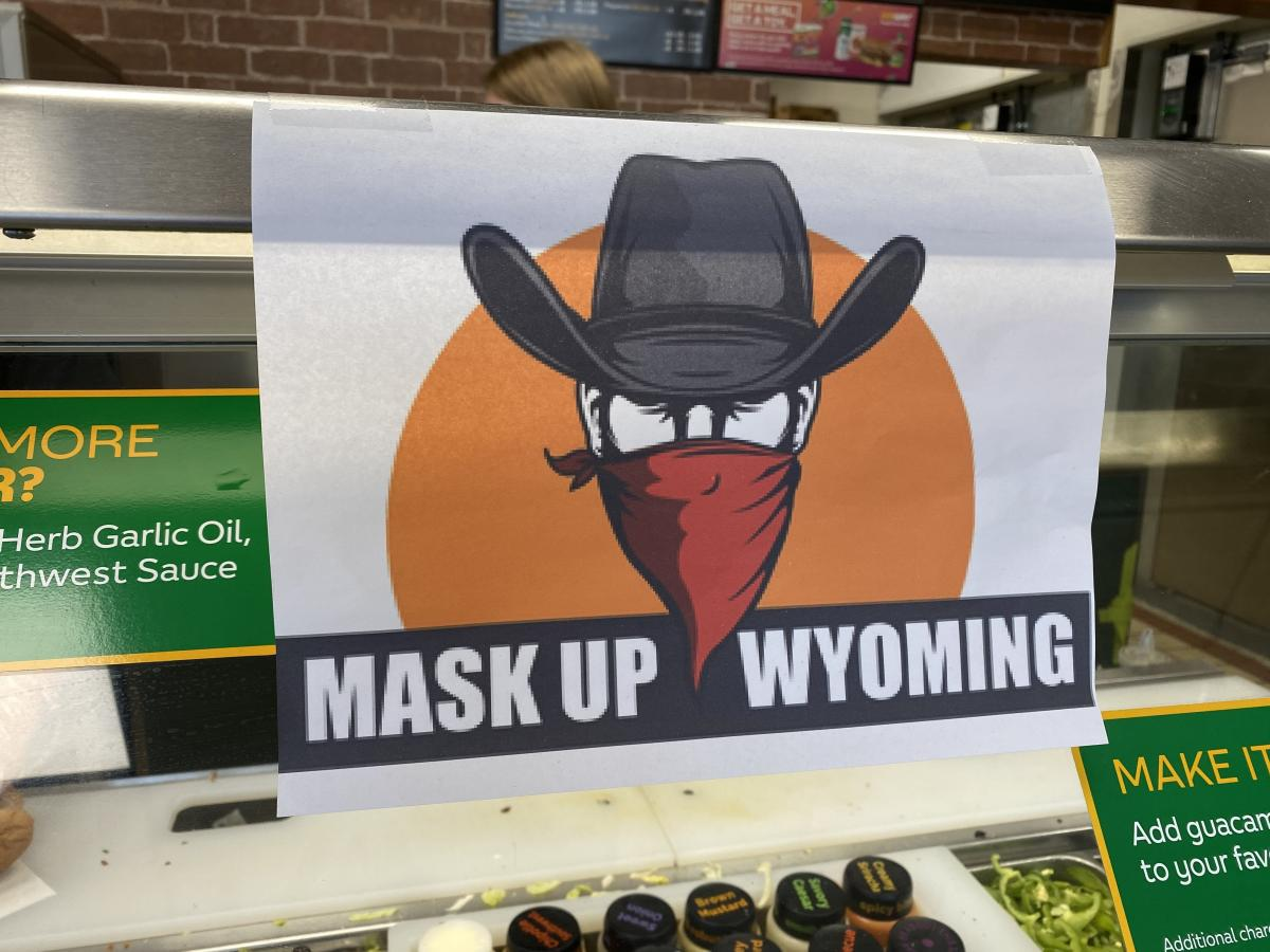 I took this picture in Wyoming.