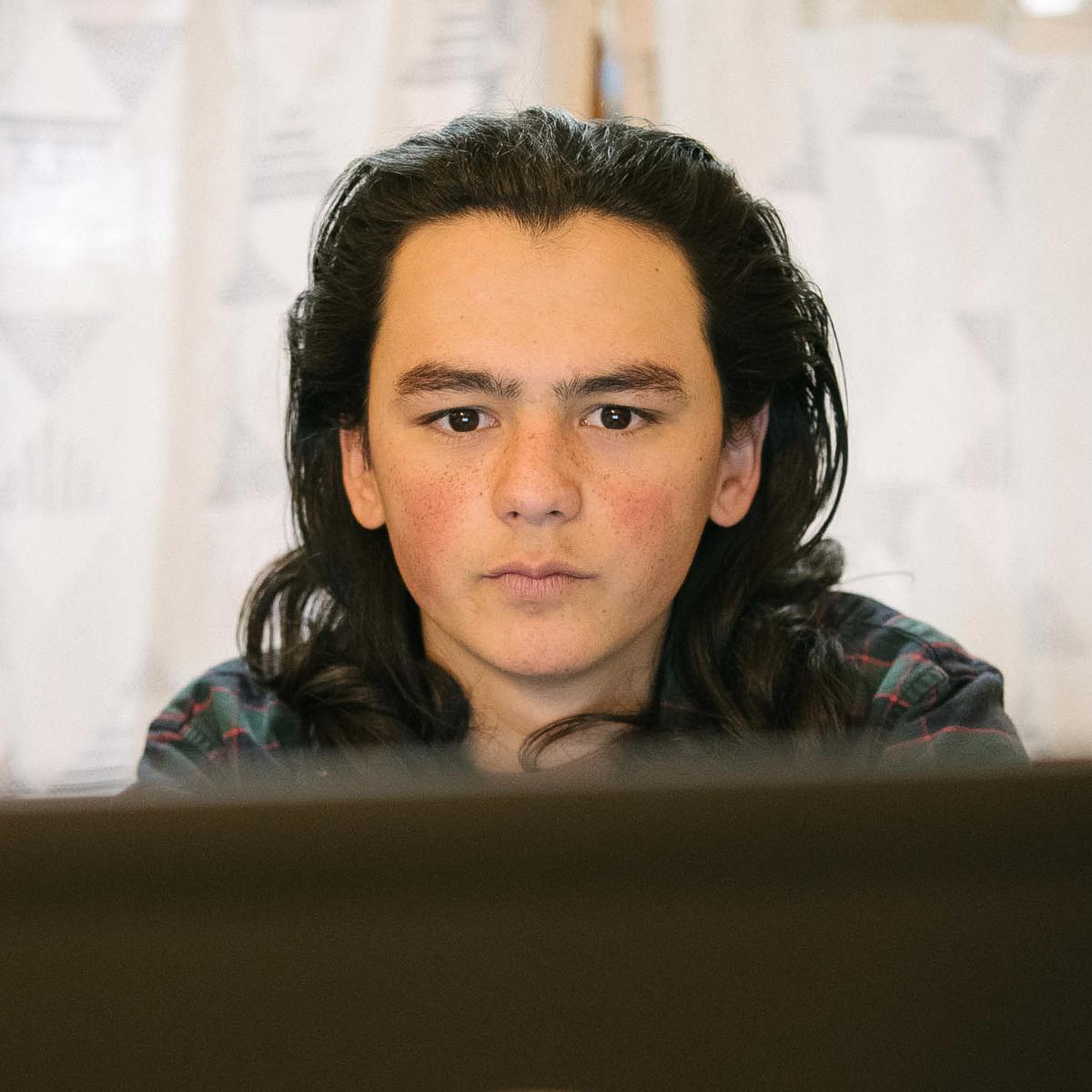 Sam Oozevaseuk Schimmel, 18, has grown up in both Alaska and Washington state. He is an advocate for Alaska Native youth.