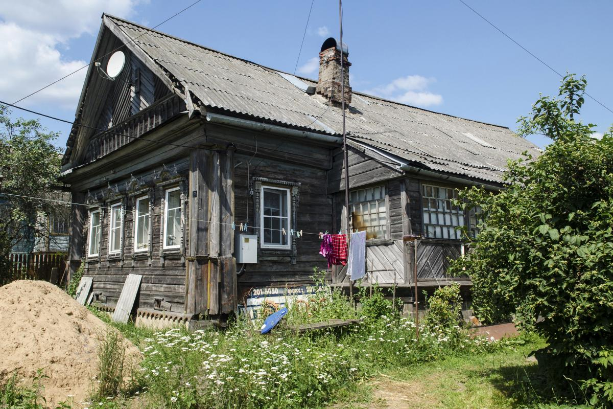 Several generations of Andrei Kuznetsov's family have lived in this village house. While dachas are usually rustic structures, the inconveniences of dacha life — the outhouse, spotty cellphone coverage and trips to the well — are far outweighed by its