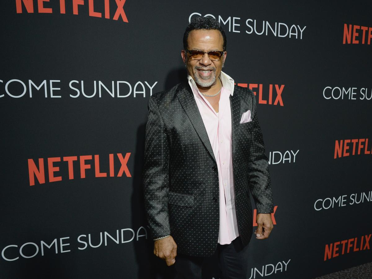 Bishop Carlton Pearson attends a special Los Angeles screening of Come Sunday, which is based on his life.