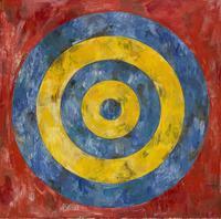 """Jasper Johns, """"Target"""" from 1961."""