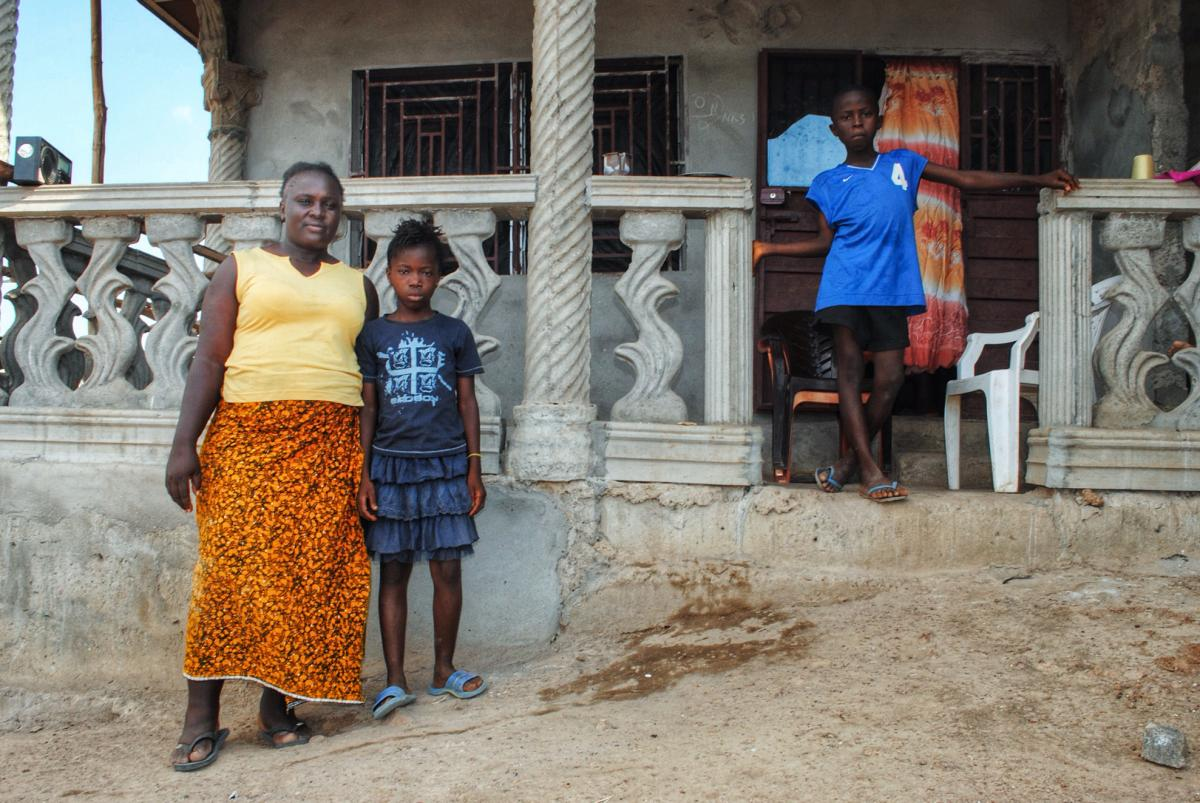 Massah Stevens, a nurse who contracted Ebola, says her landlord evicted her because she had contracted the virus. She's now building a new home — and won't tell her neighbors that she's an Ebola survivor because she thinks they would be afraid.