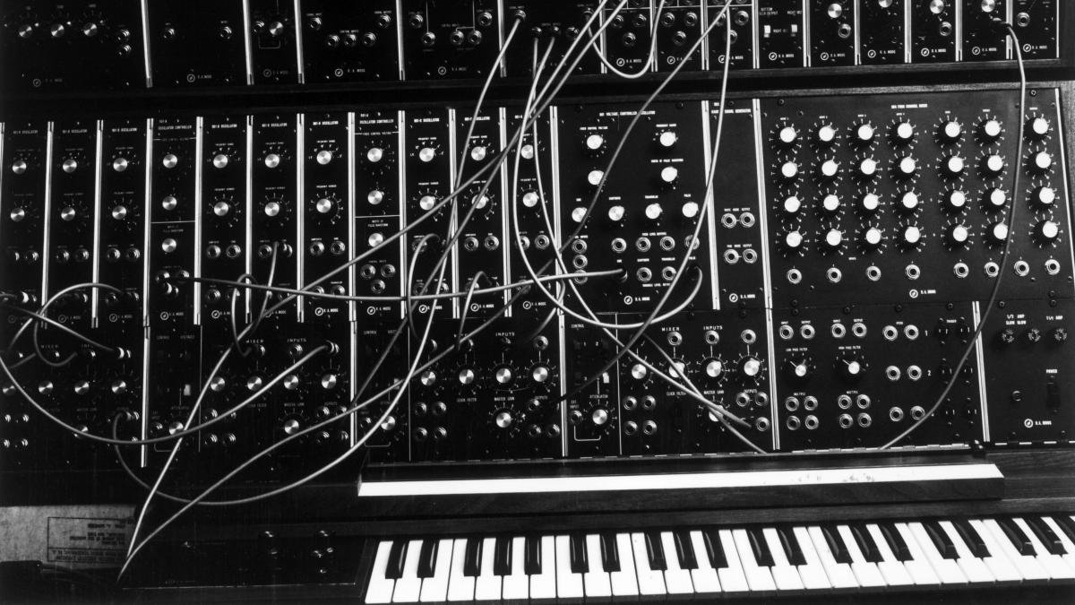 A Moog synthesizer from 1970.