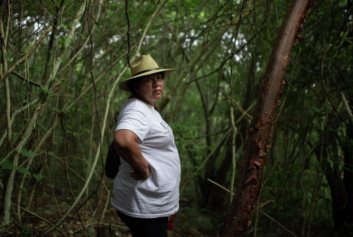 Even though she found the remains of her own son several years ago, Mirna Nereida Medina Quiñones still helps her group of mother search for their missing loved ones.