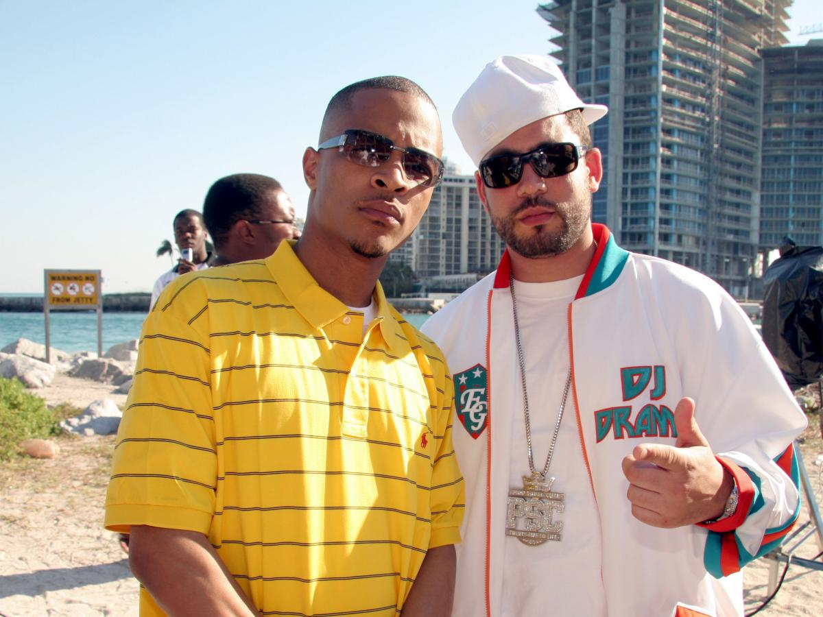 DJ Drama with T.I. in 2006.