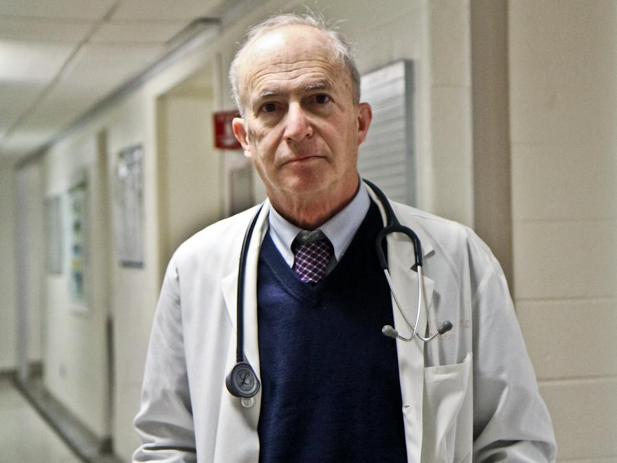 """Kidney specialist Steven Peitzman, a professor at Drexel University College of Medicine, says physicians who are now in their 60s and 70s used to get praise if they had the """"ear"""" to hear and interpret subtle sounds through a stethoscope."""