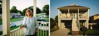 Ruth Nunez (left) lived in a brick home on Schnell Drive in Arabi, La., prior to Katrina. After the storm, she rebuilt and raised the house.