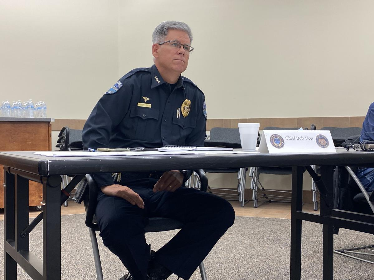 Loveland Police Chief Robert Ticer has characterized Garner's arrest as an issue with an individual officer, not with the department's operations. The city's police are undergoing Alzheimer's awareness training.