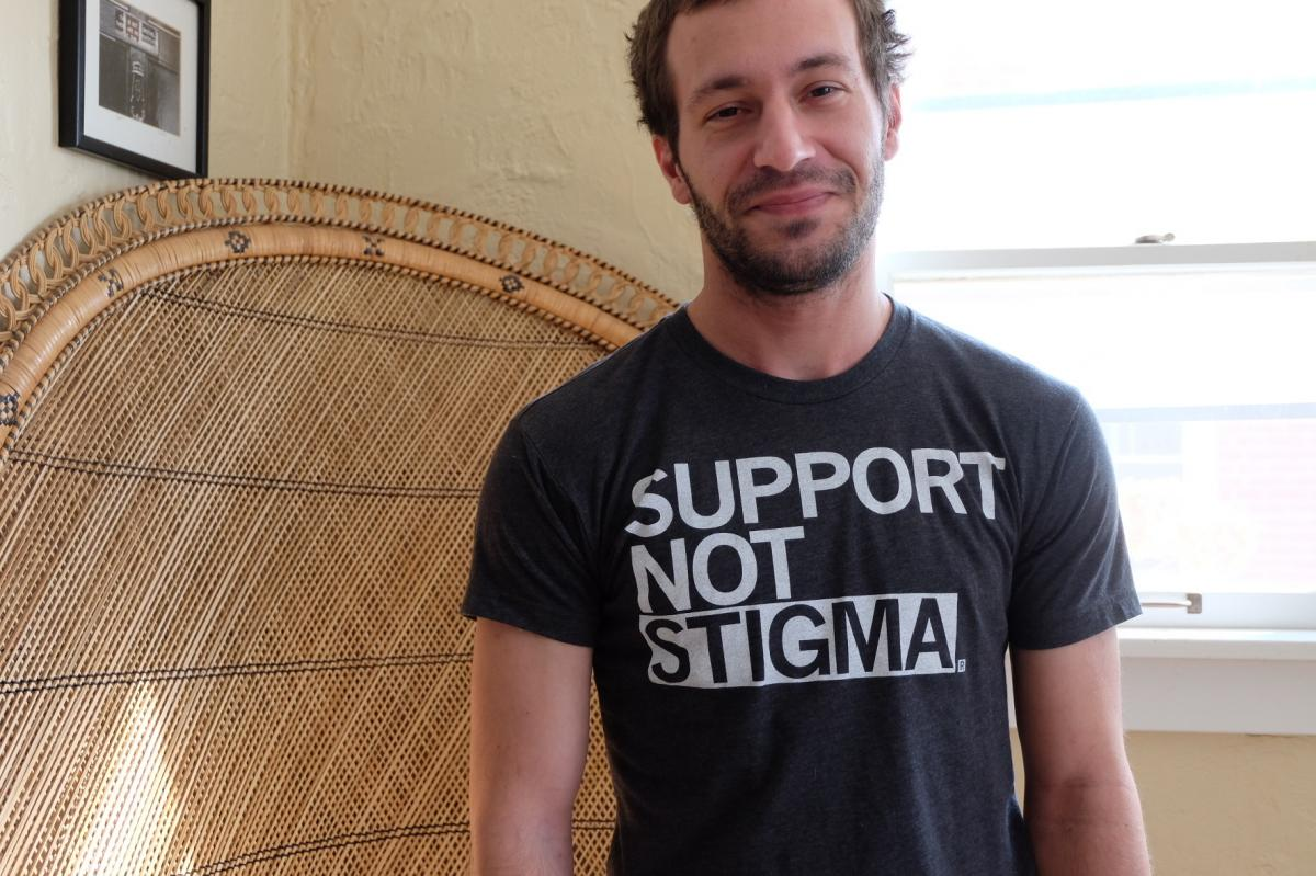 """Beeler was services coordinator for the Iowa Harm Reduction Coalition, a group that works to help keep drug users safe. A tribute in Iowa City after his death began, """"He died of an overdose, but he'll be remembered for helping others avoid a similar fate."""