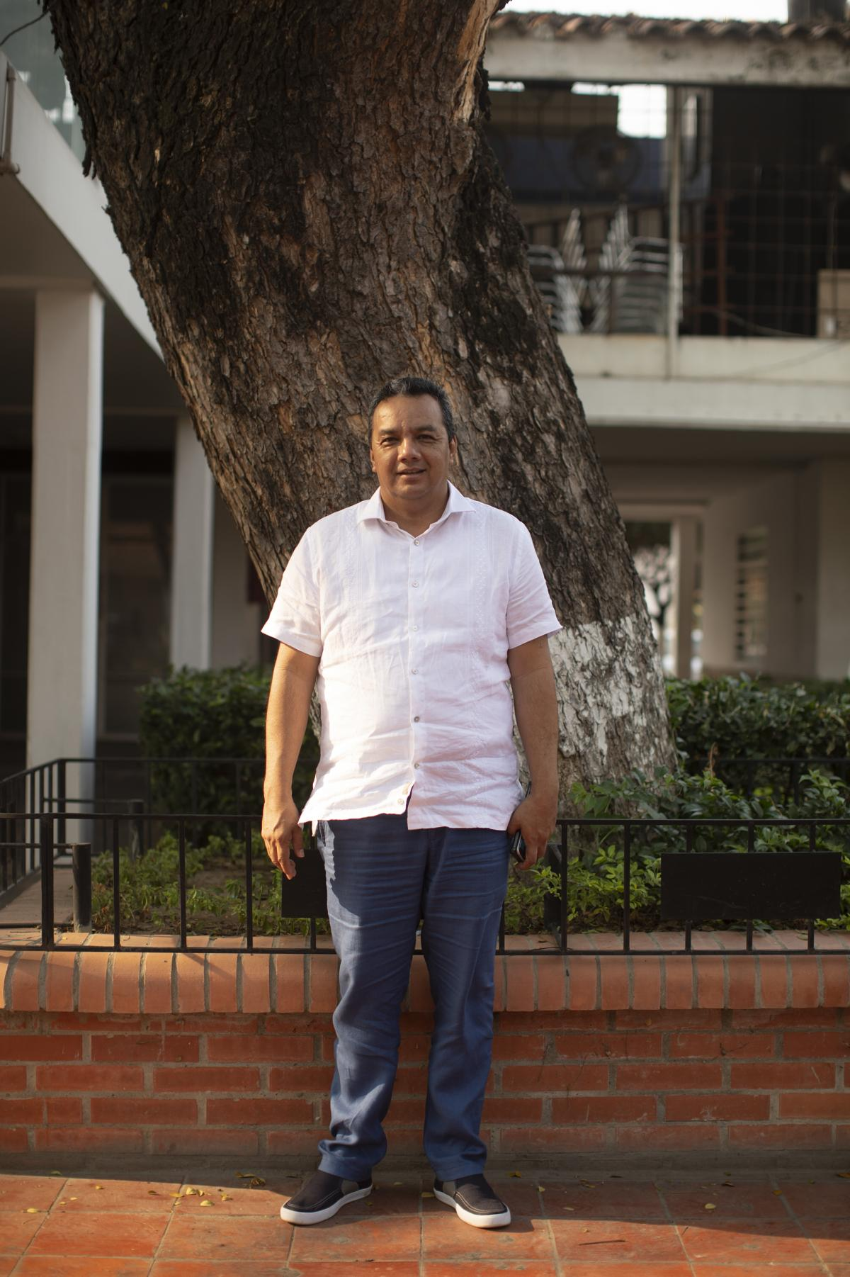 Pepe Ruíz Paredes, mayor of the Colombian town of Villa del Rosario, said local authorities have tried to swiftly suppress outbreaks of violence at protests along the border.