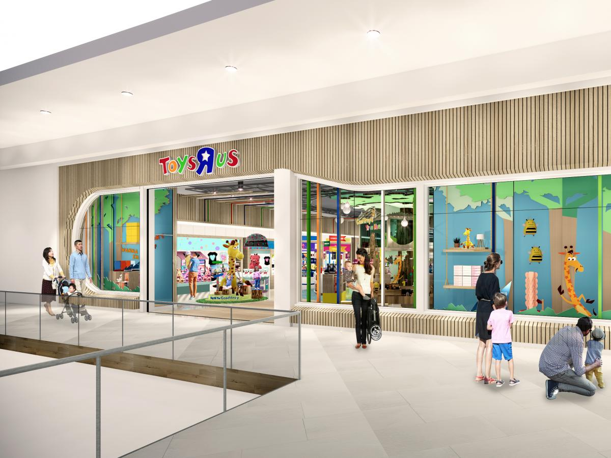 The first new stores will be in Texas and New Jersey.