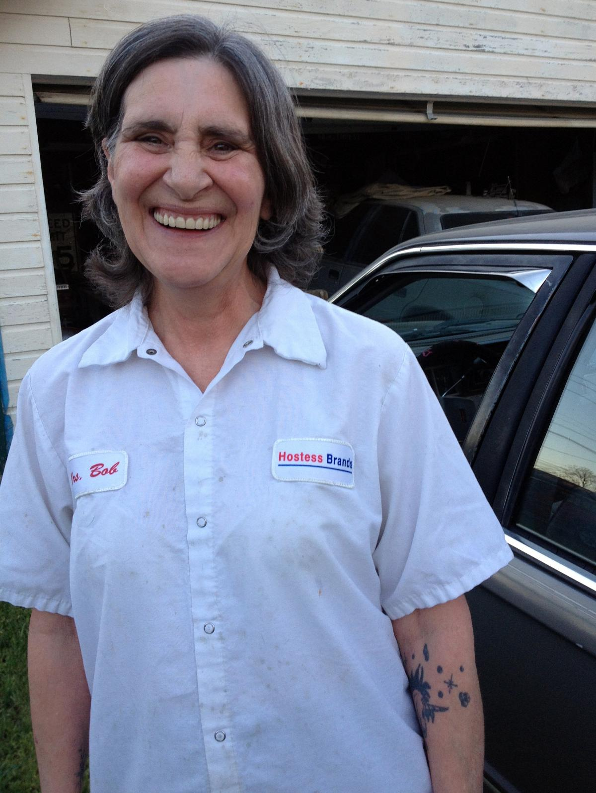 Pat Chambers recently went back to work at the Hostess bakery in Emporia, Kan.