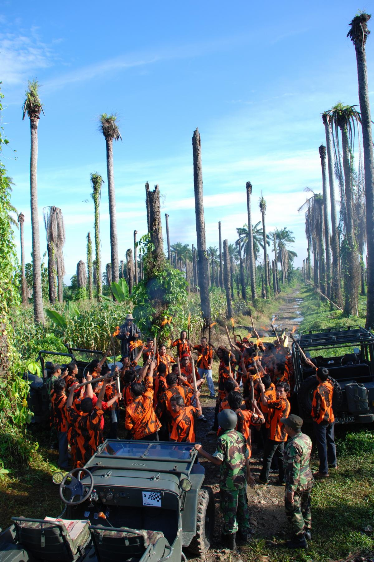 The Act of Killing examines the genocide in Indonesia between 1965 and 1966.