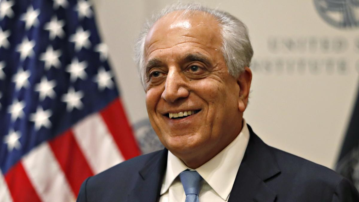 Zalmay Khalilzad is leading the U.S. negotiations with the Taliban. After months of talks, the two sides appear close to a deal that could lead to the withdrawal of U.S. troops in Afghanistan.
