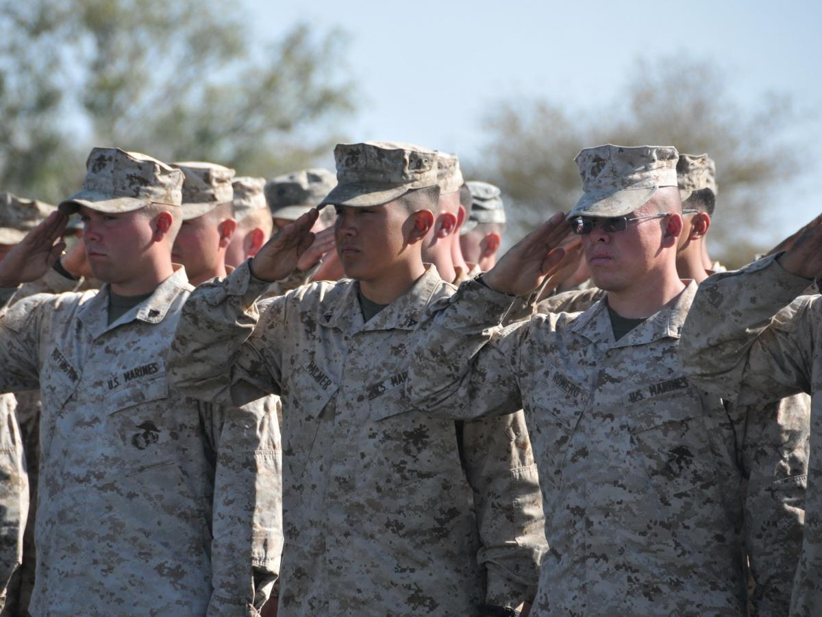 U.S. soldiers at the closing ceremony for a two-week joint military training exercise with the Botswana Defense Force. The U.S. Africa Command was created, in part, to help train African military forces before crises begin.