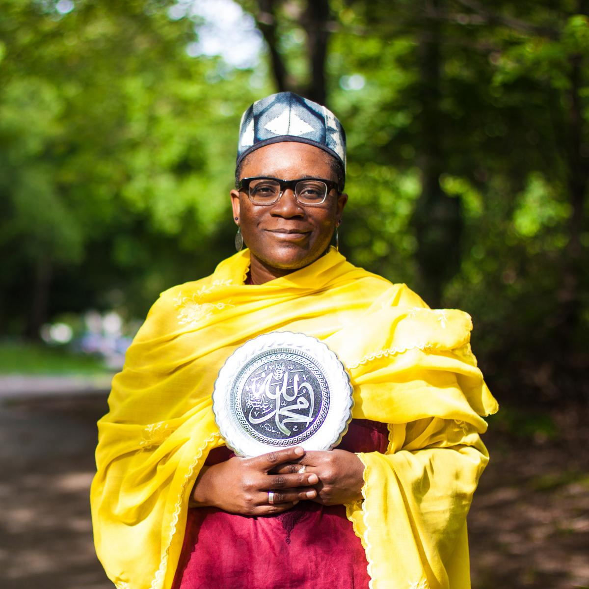 """Terna is a Nigerian-Liberian American who identifies as black and bisexual. She lives in Boston and says she is still struggling with a lack of acceptance from some members of her family. """"I think I learn to live with it differently at different moments i"""