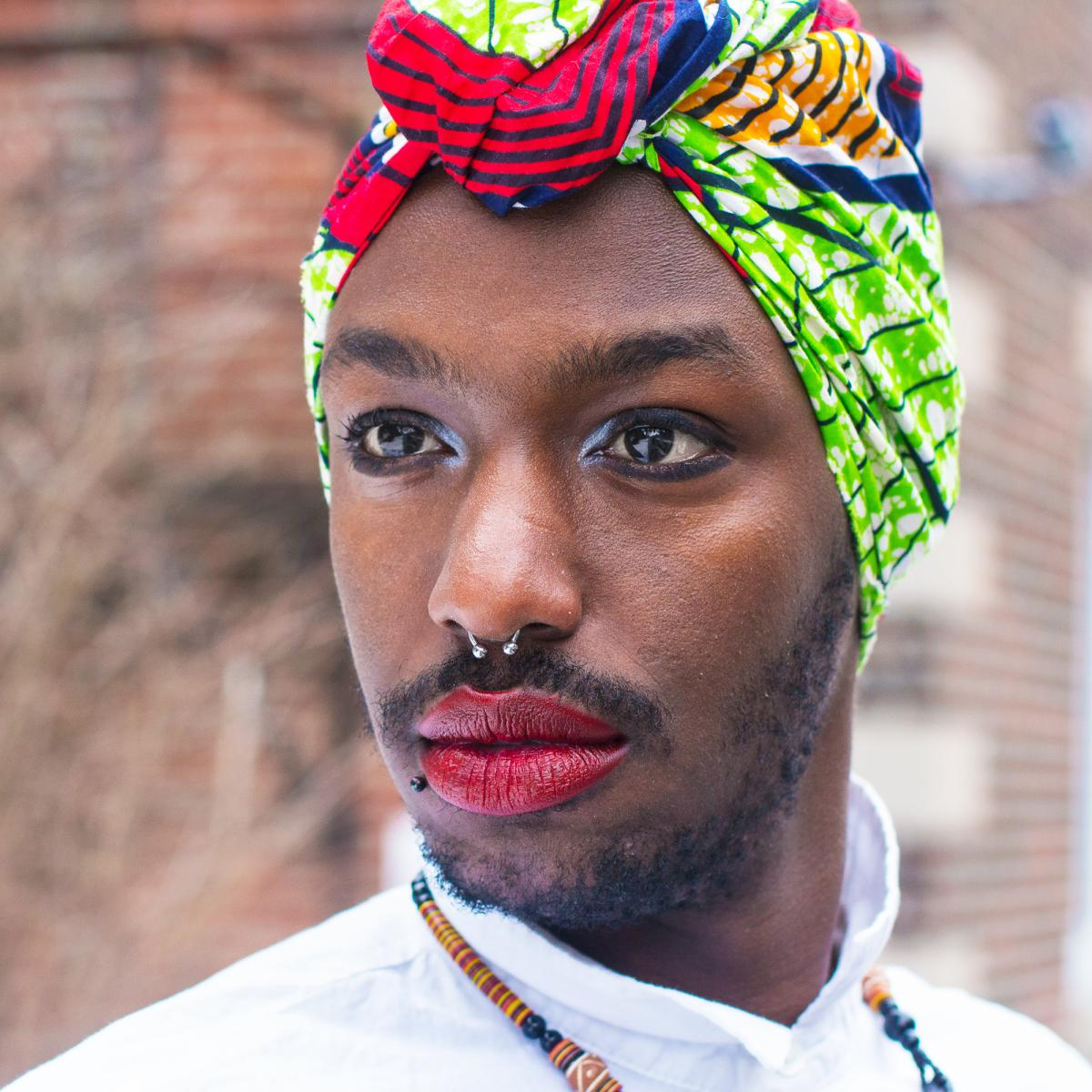 """Brian is Rwandan but grew up in Tanzania, Niger, Kenya, Benin and the Central African Republic. He now lives in Montreal. He says he felt for a long time like his queer and African identities were """"mutually exclusive"""" but felt a weight lifted off him when"""