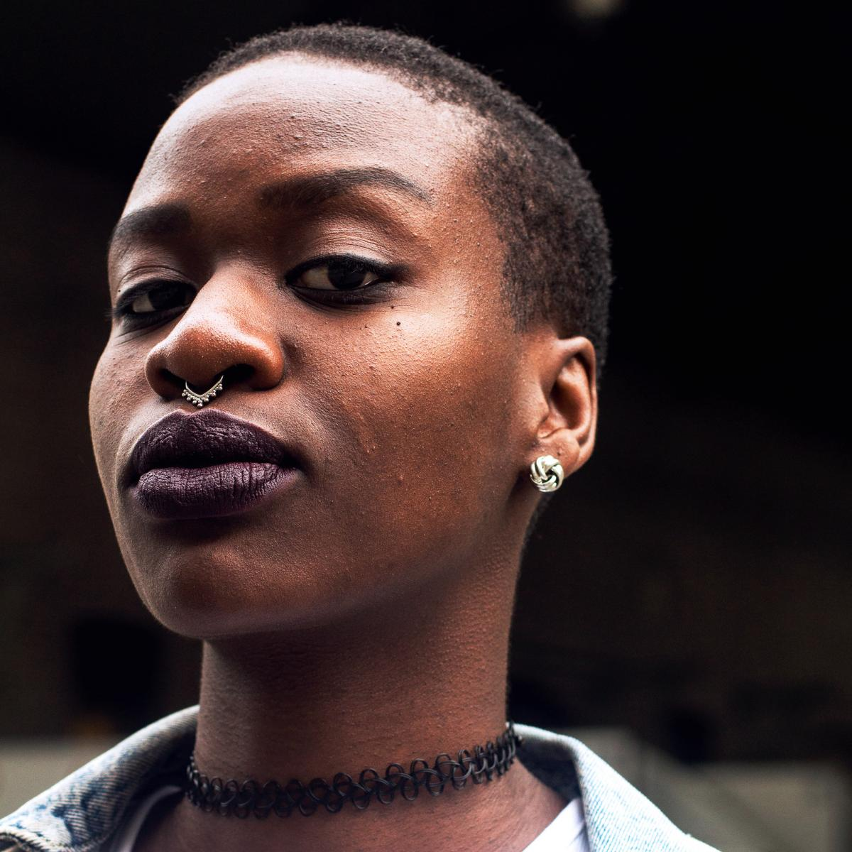 Juliet is Ugandan from the Acholi ethnic group. She grew up in Sweden and identifies as queer. She says she struggled to feel seen by the white LGBTQ community in Sweden, so she formed an organization called Black Queers Sweden. Her family accepts her sex