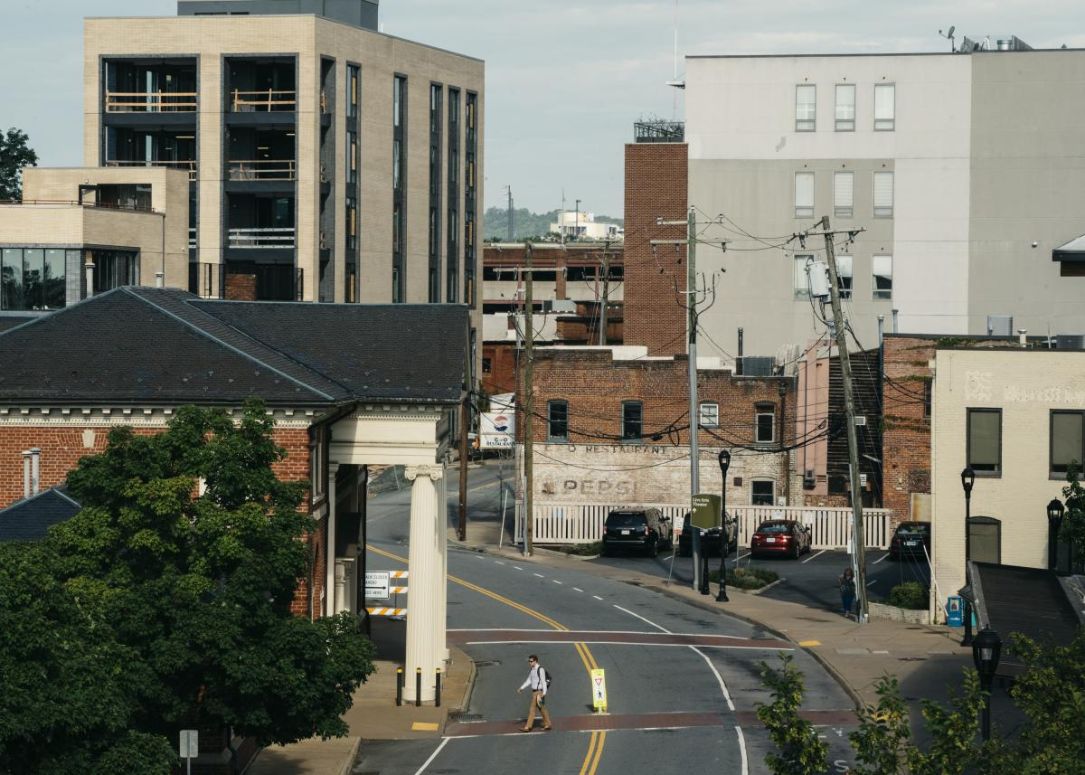 Historic Downtown Charlottesville, Va. Since the violence last year, Charlottesville city government has been upended. Local authorities faced harsh criticism for not intervening and preventing the bloodshed. The police chief, city manager, city attorney