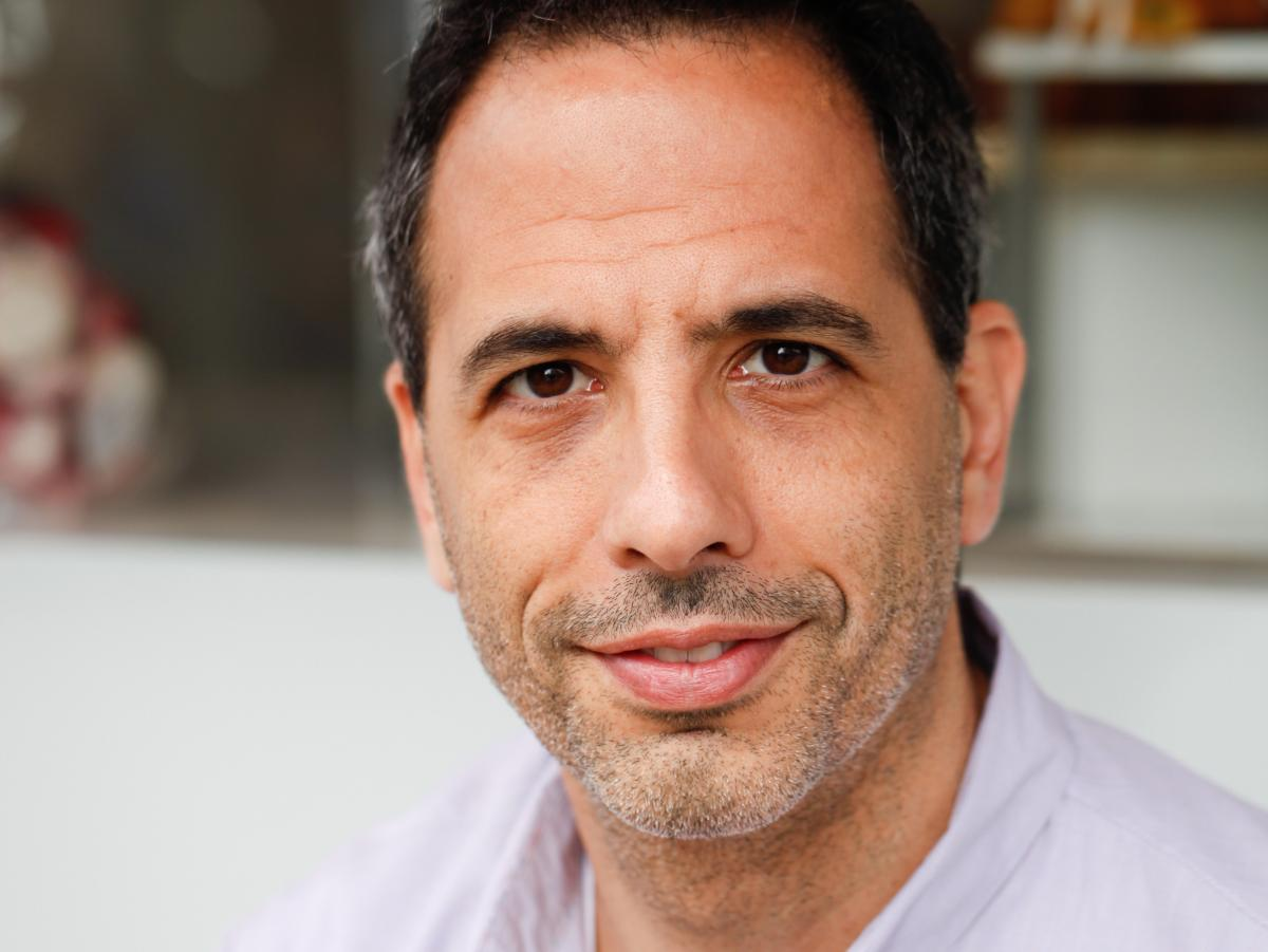 London-based chef Yotam Ottolenghi specializes in Middle Eastern and Mediterranean cuisine.