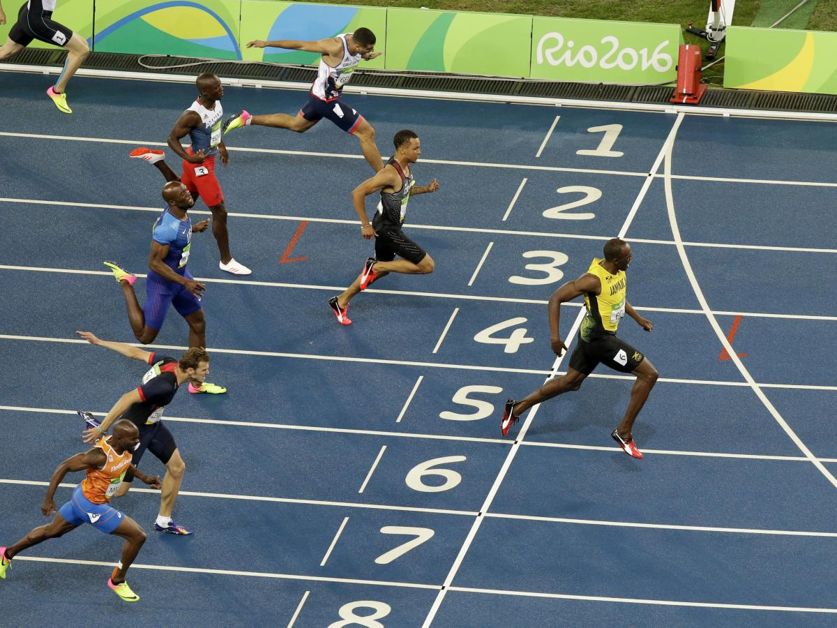 Usain Bolt's Final 100-Meter Race: 'There He Goes' | 88 5 WFDD