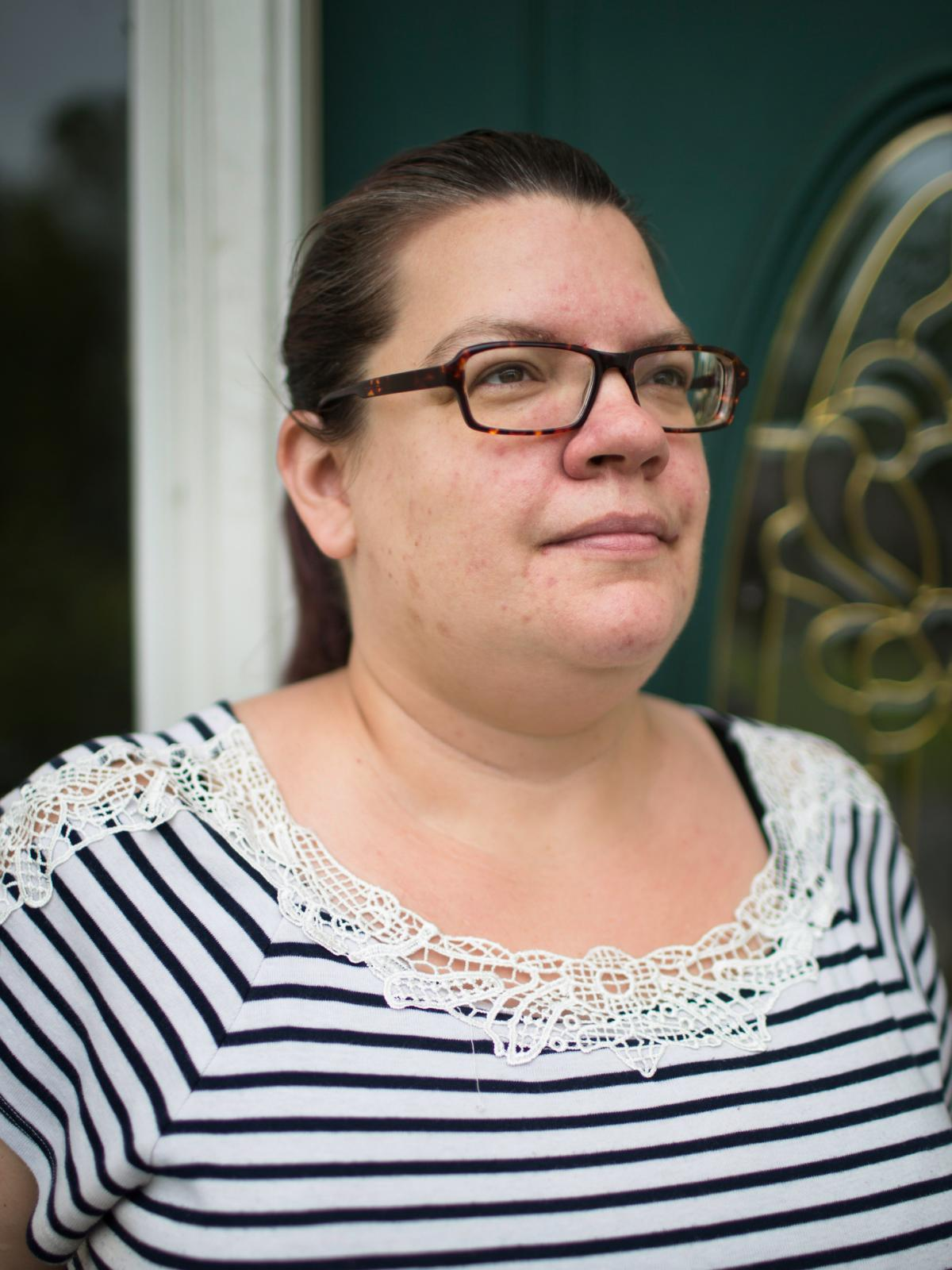 After two years in the VA's Program of Comprehensive Assistance for Family Caregivers, the Wilmots were dropped even though they say George's condition hasn't improved. Jenn Wilmot says the Charleston, S.C., VA encouraged her to reapply, and then rejected