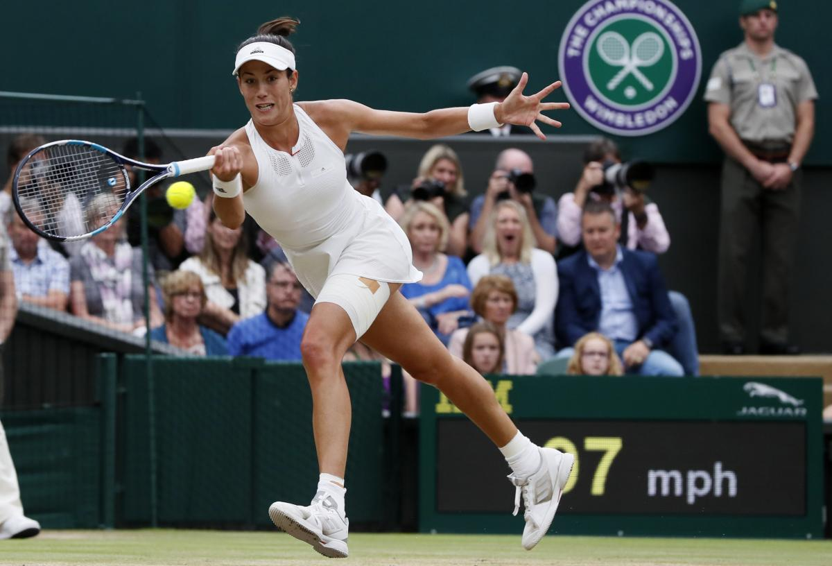 Spain's Garbiñe Muguruza defeated Venus Williams to win the women's singles title at the Wimbledon Tennis Championships in London on Saturday.