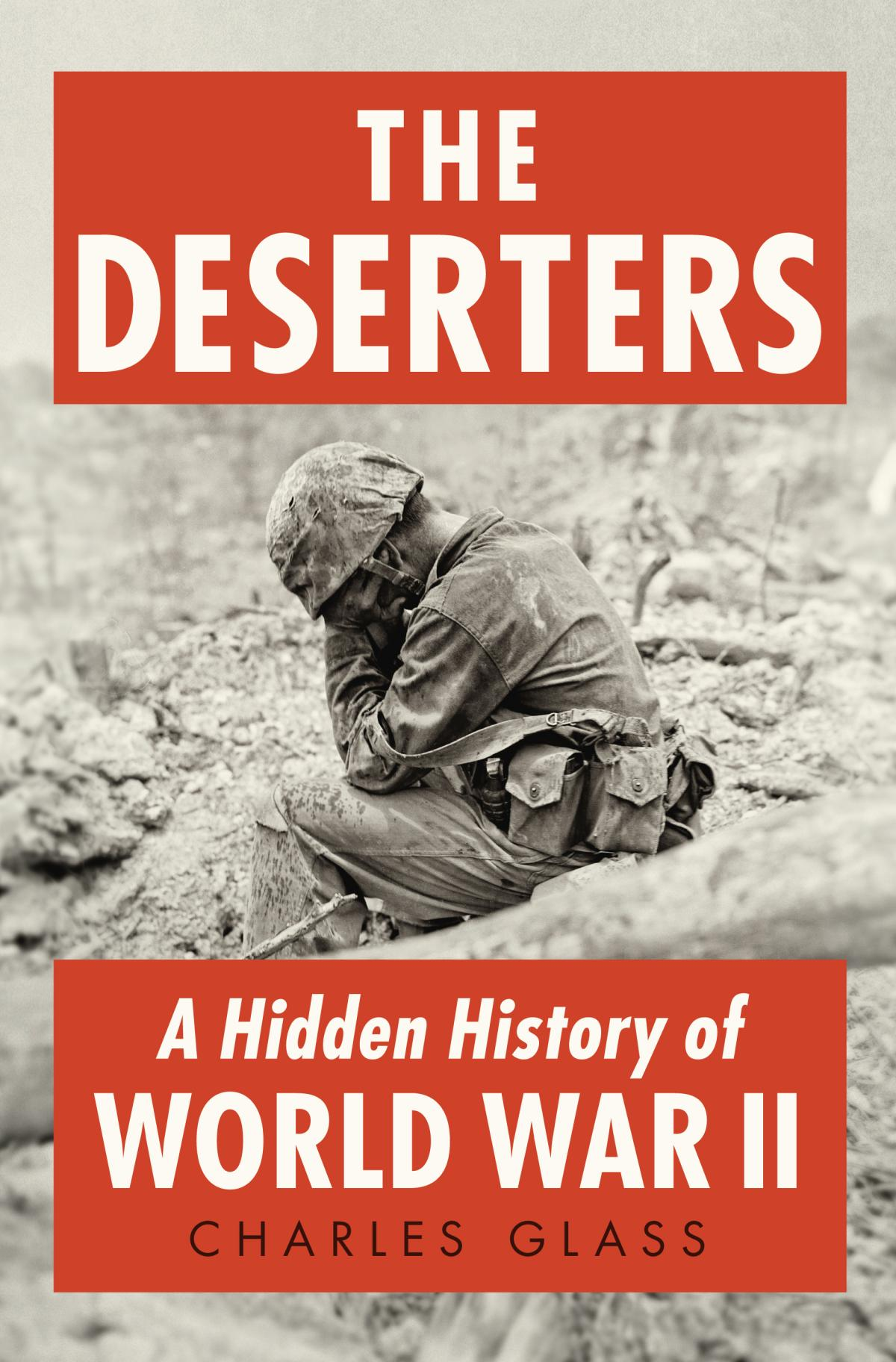 The Deserters is Charles Glass' second book relating to World War II. His last book, Americans in Paris, told the story of the U.S. citizens who remained in the French capital after the 1940 German invasion.